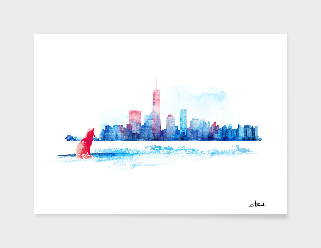 New York City Coast main illustration
