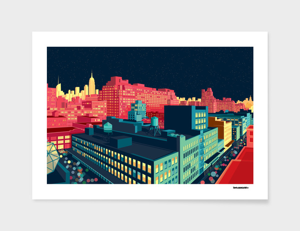 Meatpacking District by Night main illustration