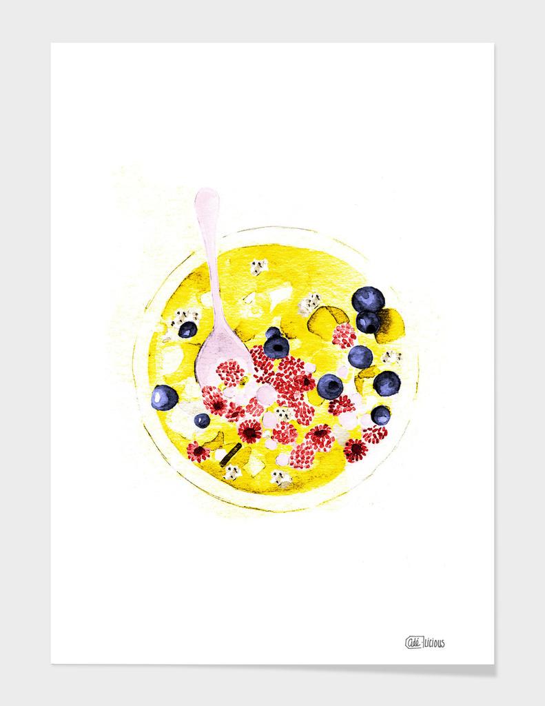 Fruits main illustration