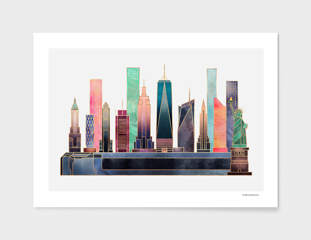 NYC - Color main illustration