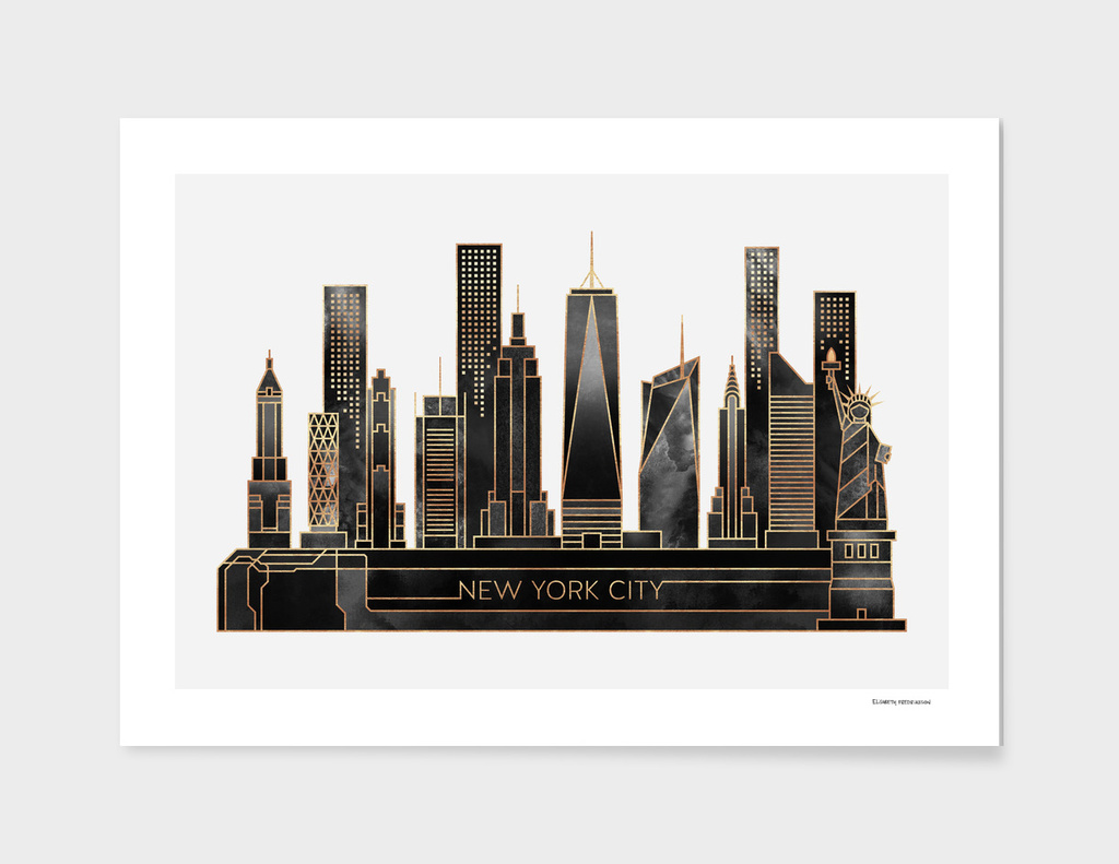 NYC - Black main illustration