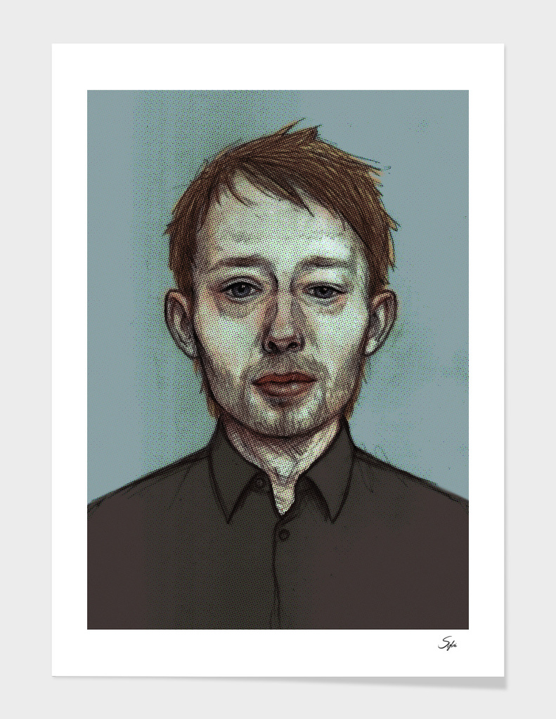 thom yorke main illustration