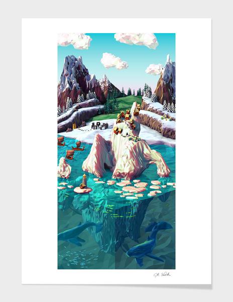 Glacier main illustration