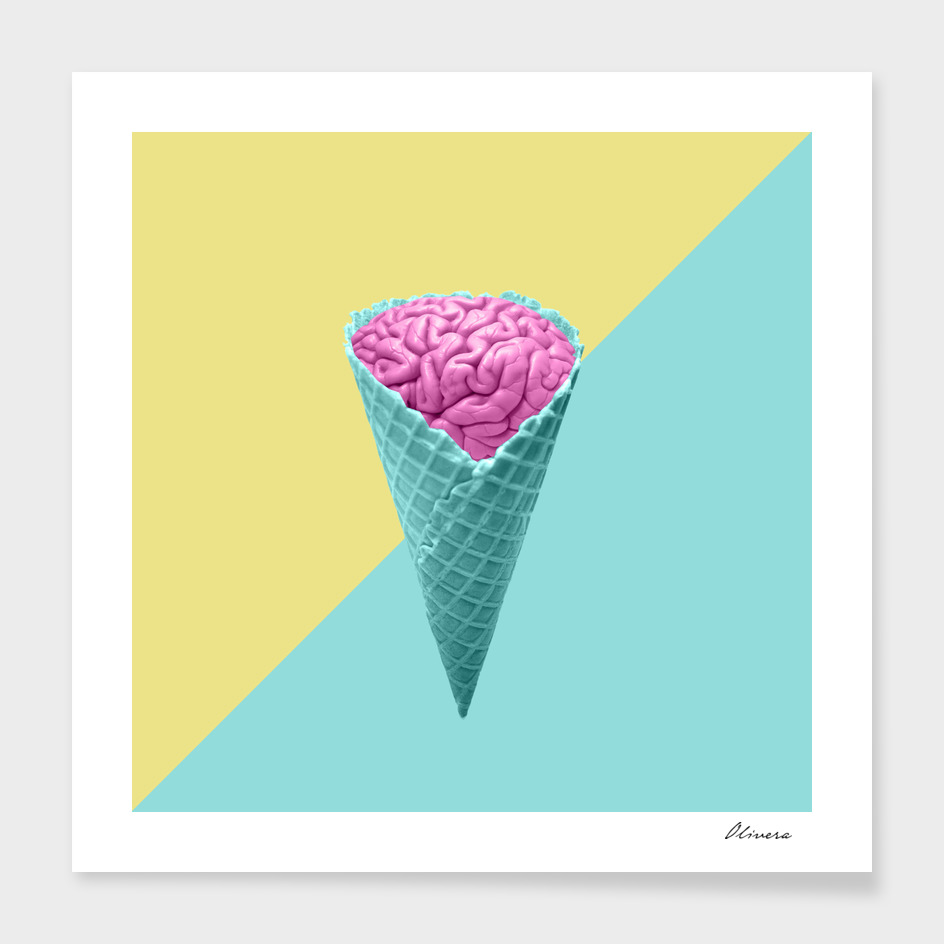 Ice cream main illustration