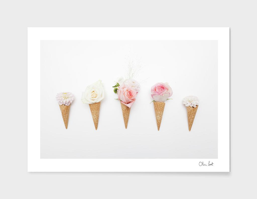 Ice-cream blossom