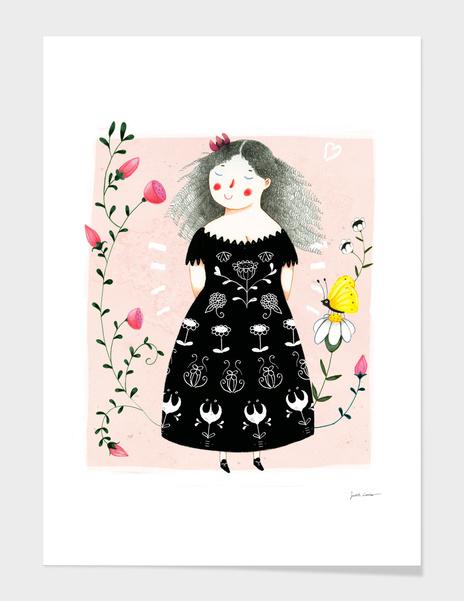 Black Dress main illustration
