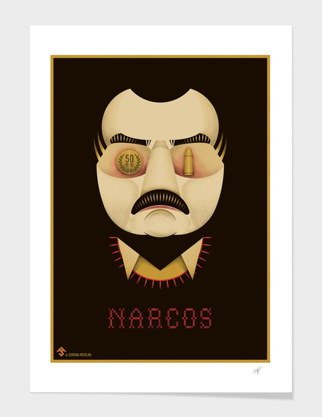 NARCOS Alternative Poster main illustration