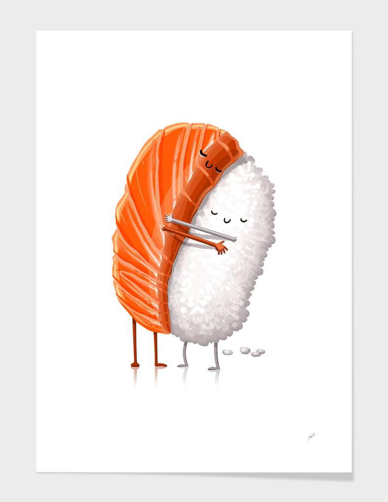 Sushi Hug main illustration