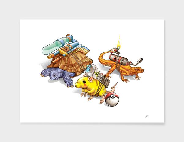 Poorkemon main illustration