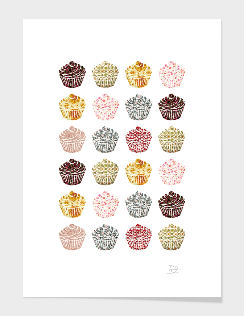 when you look at a cupcake you've got to smile main illustration