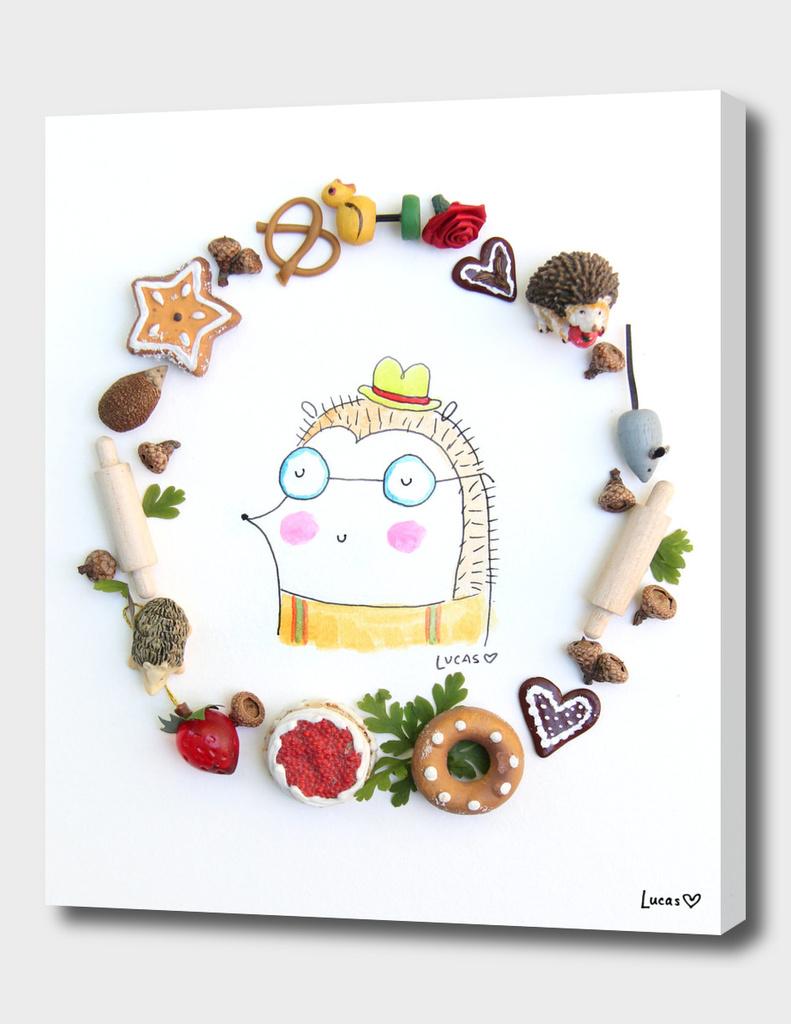 Iggie the Hedgehog main illustration