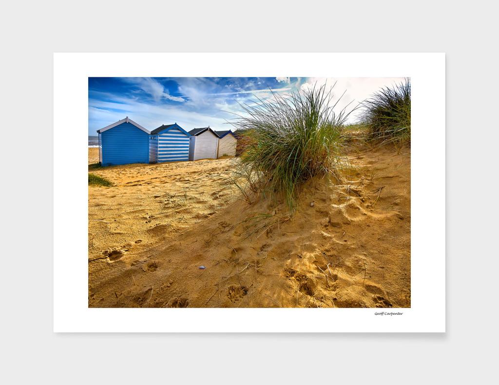 Behind The Beach Huts main illustration
