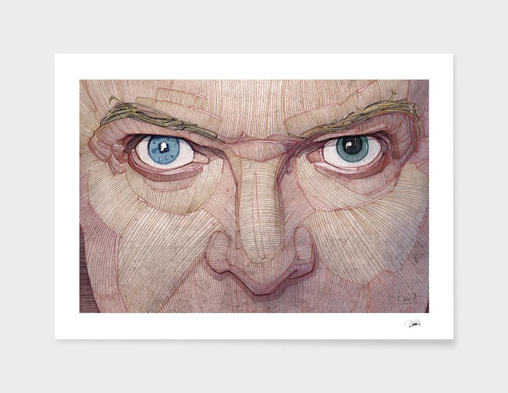 David Bowie eyes main illustration