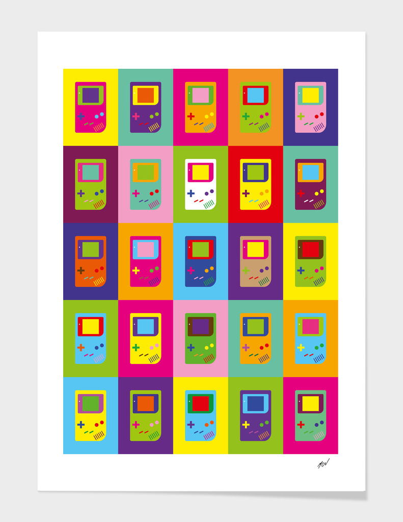Maicon MCN - Gameboy Poster
