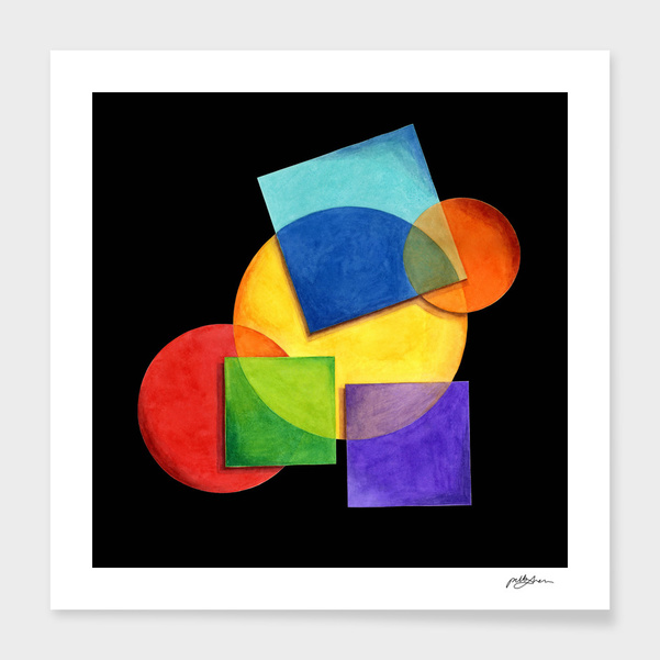 Candy Geometric main illustration
