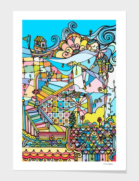 Wonderland main illustration