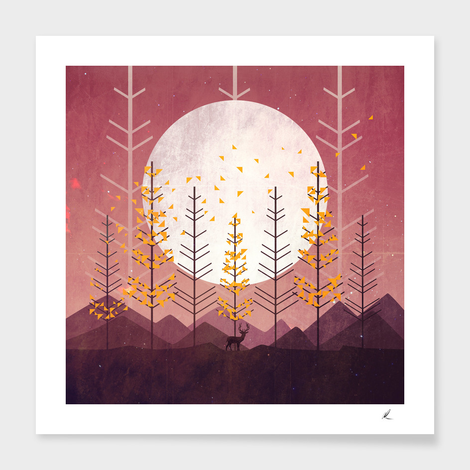 Sunset Mountain main illustration