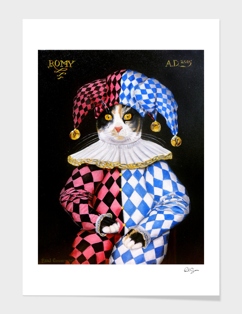 Romy the Jester 2015 main illustration