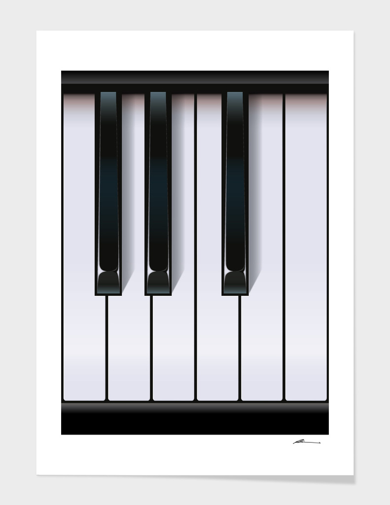 Piano main illustration