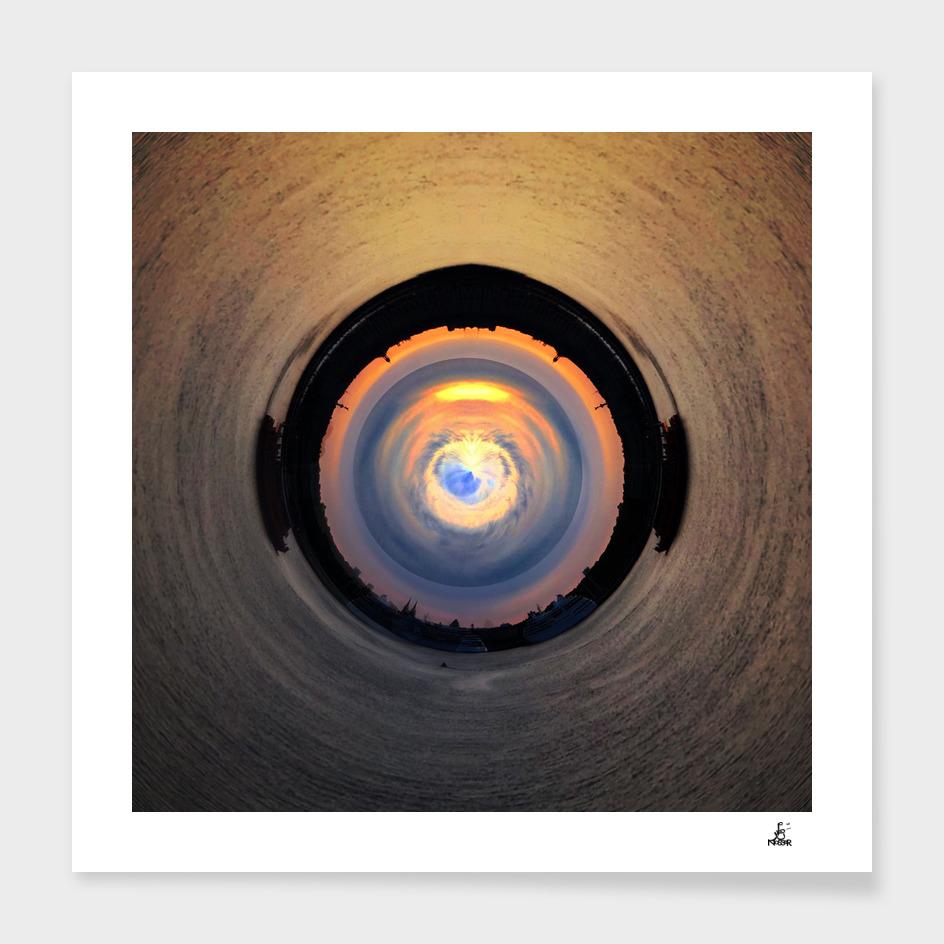 Eye In Bourdeaux Sky main illustration