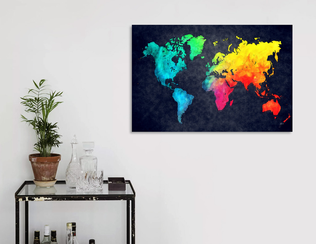 world map curioos