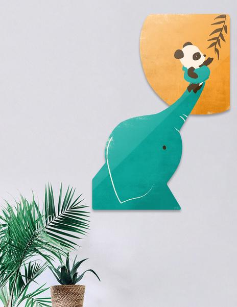 Panda's Little Helper main illustration