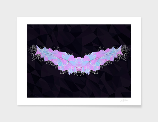 Angelic - Low Poly 3D Abstract main illustration