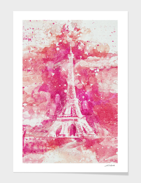 Artistic XLIV - Eiffel tower Paris / NE main illustration