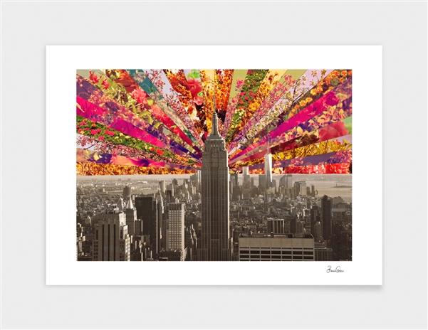 Blooming NY main illustration