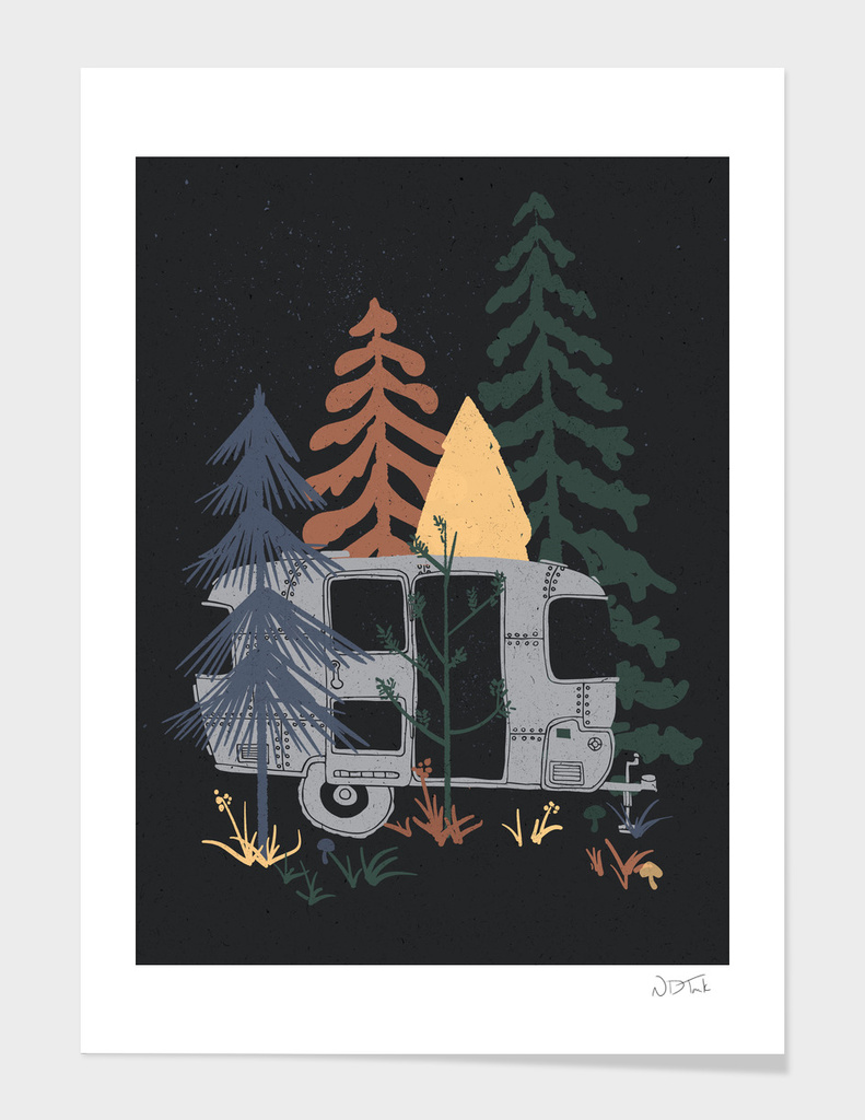 Wild Airstream... main illustration