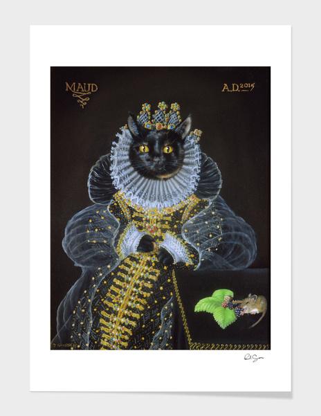 Maud - The Mouse Portrait main illustration