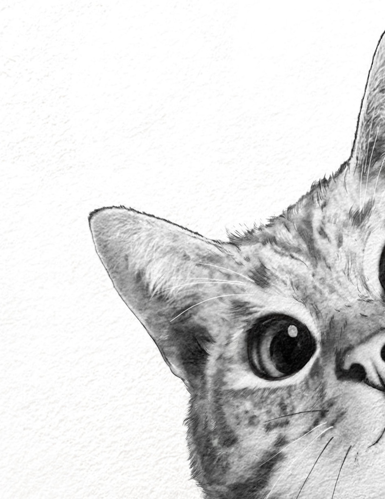 sneaky cat Numbered Edition Art Print by Laura Graves From $19