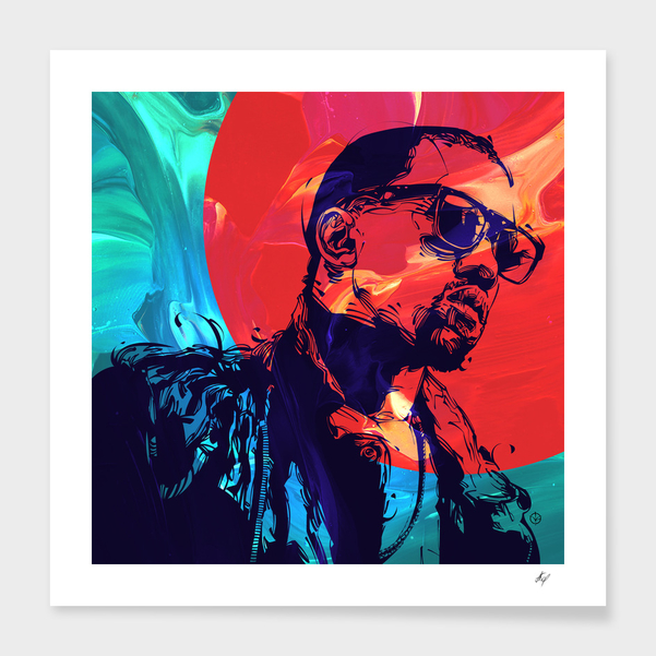 Kanye West main illustration