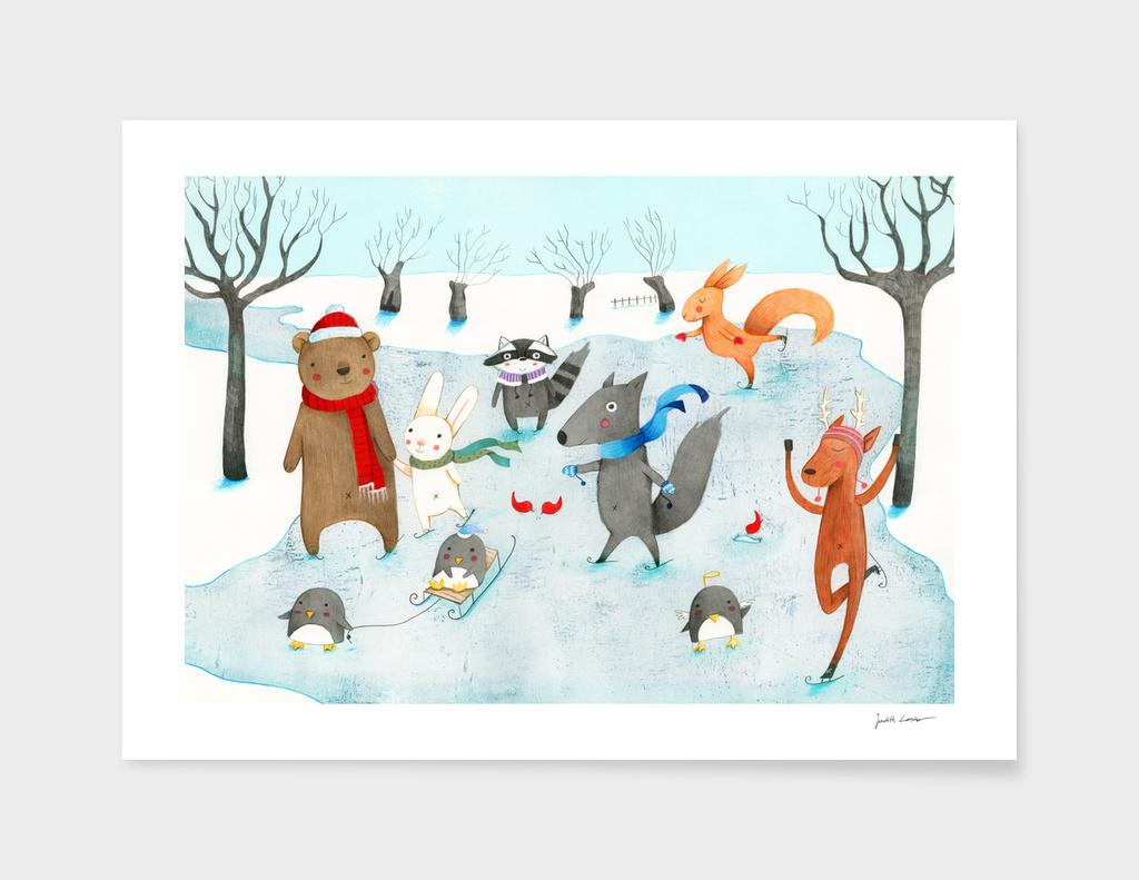 Ice Skating main illustration