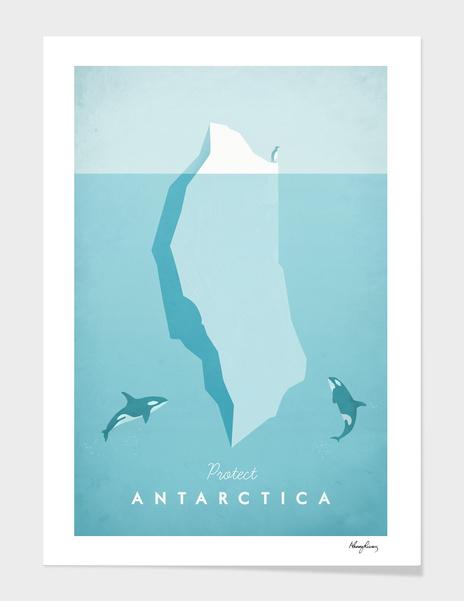 Antarctica main illustration