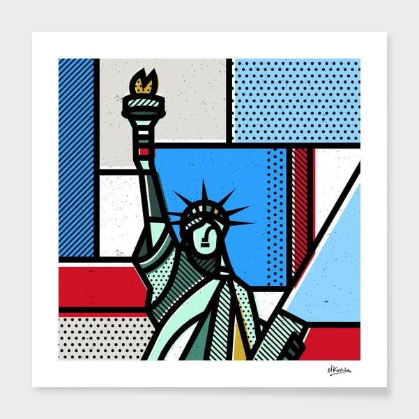 United States: Statue of liberty main illustration