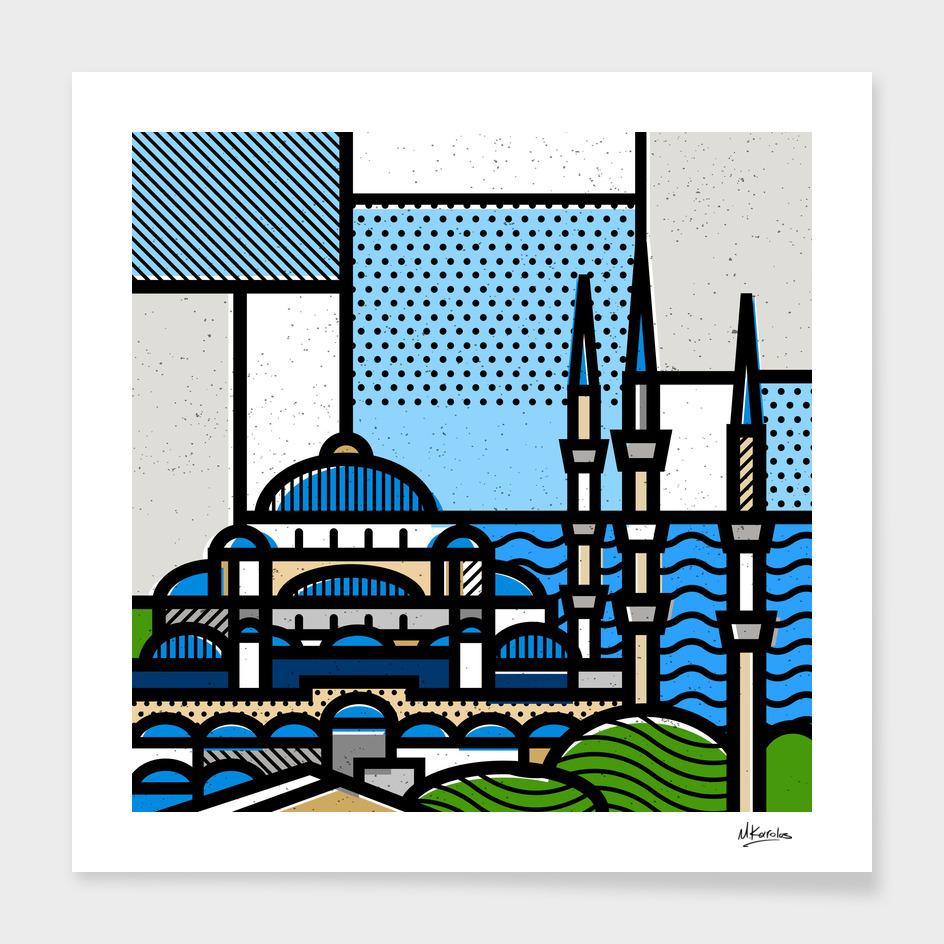 Turkey: Blue Mosque main illustration