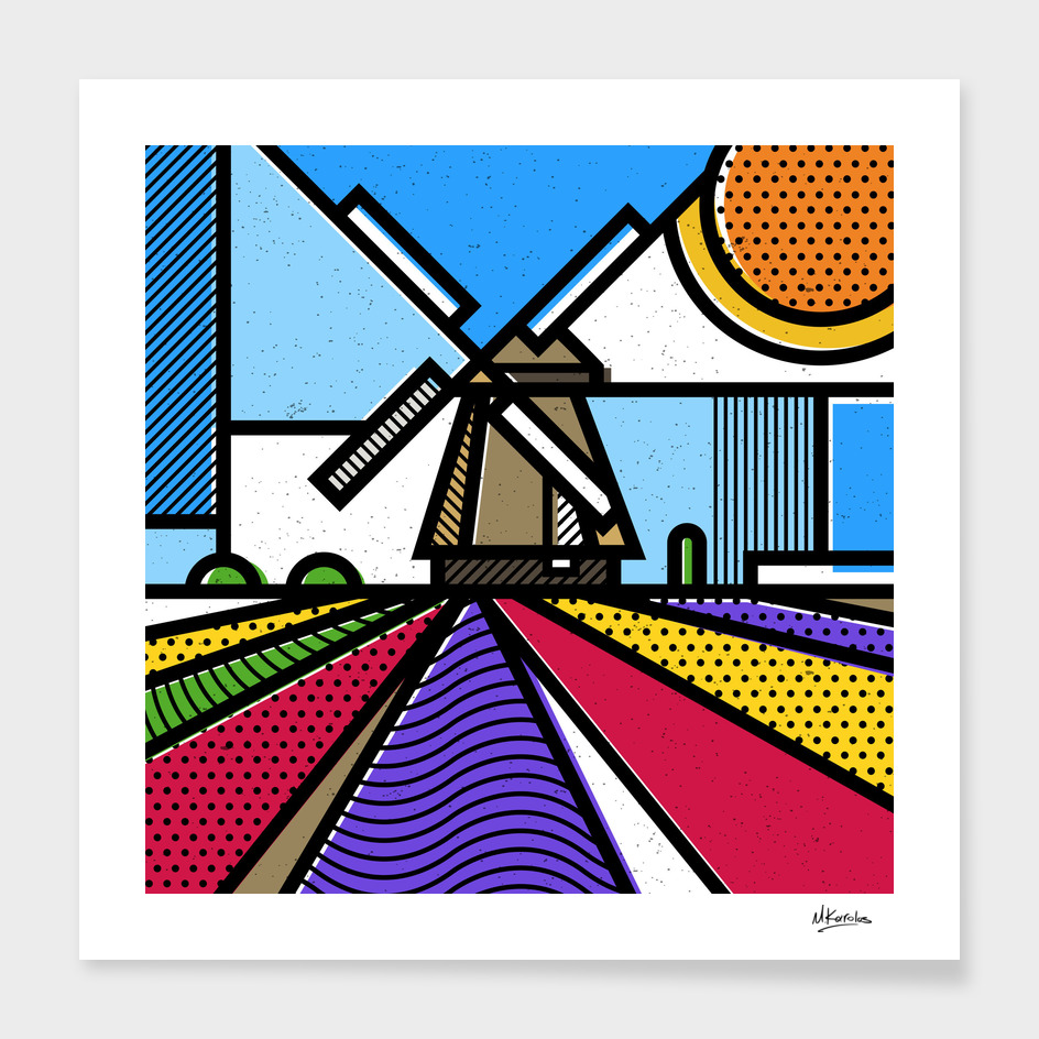 Holland: Windmill main illustration