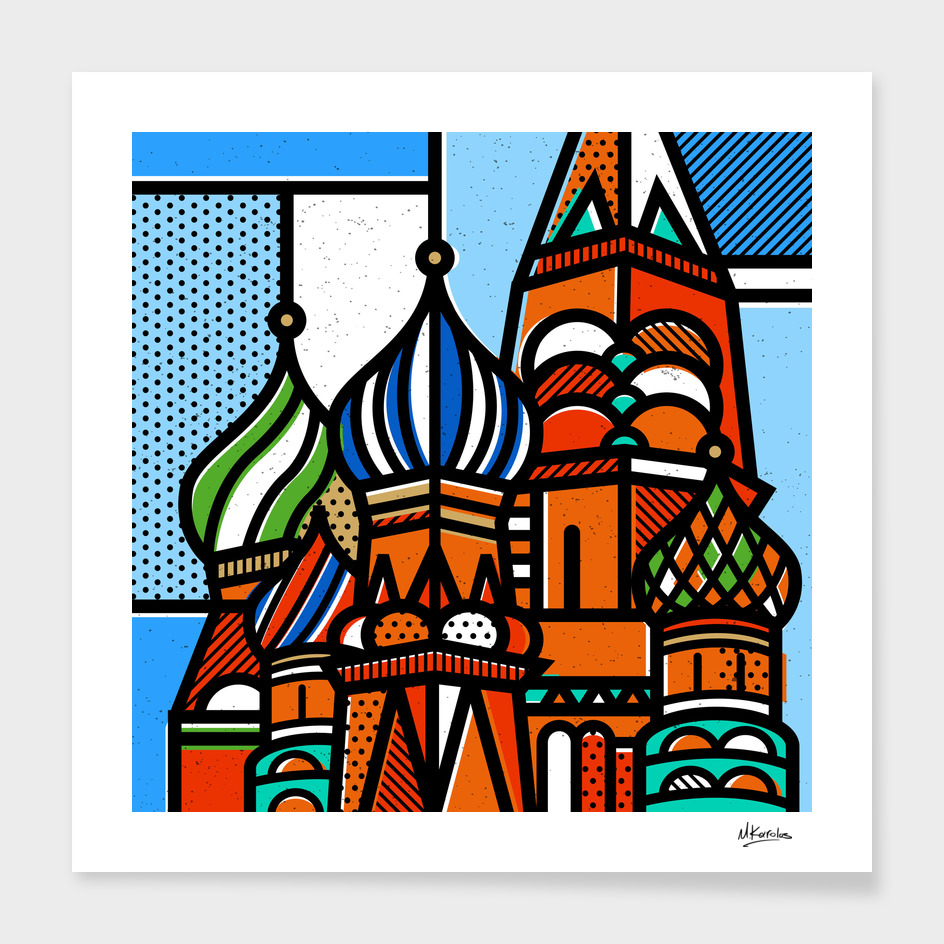 Russia: St Basil Cathedral main illustration
