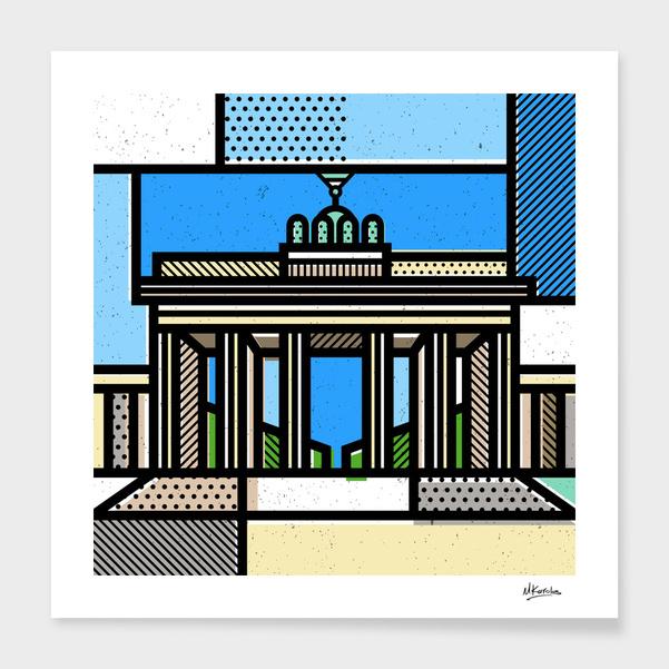 Germany: Brandenburg Gate main illustration