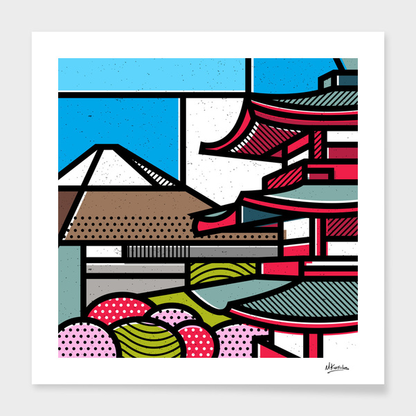 Japan: Mount Fuji main illustration