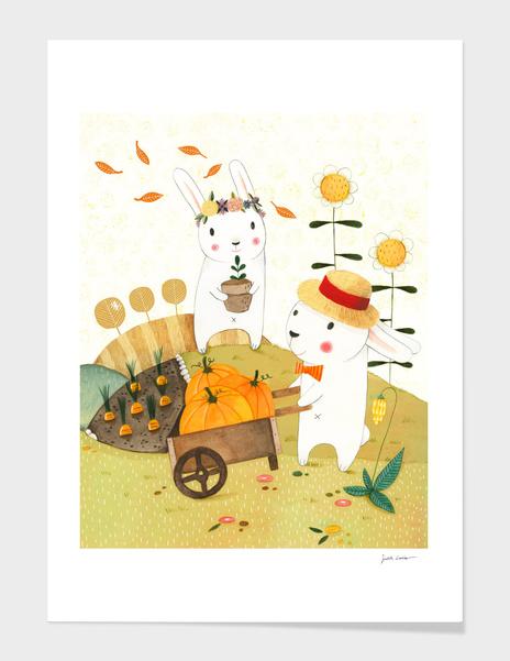 Harvest main illustration