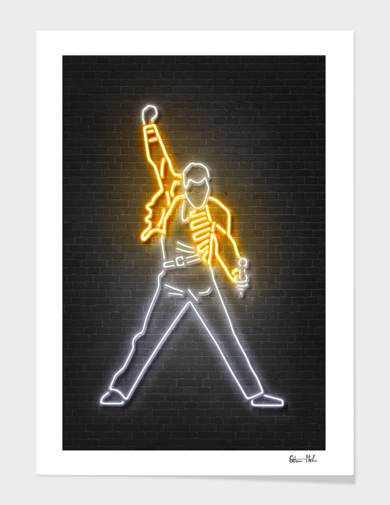 Freddy Mercury main illustration