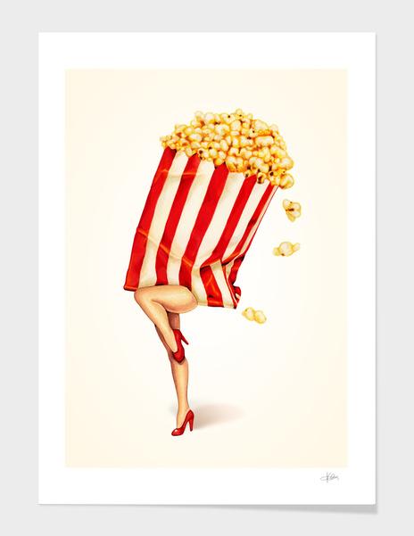 Popcorn Girl main illustration