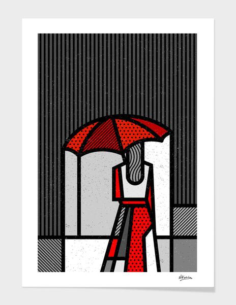 Red Umbrella main illustration