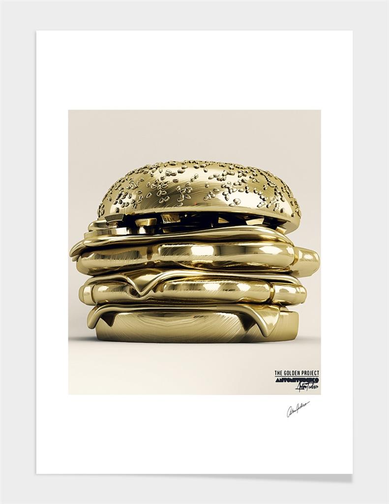 Golden Burger main illustration