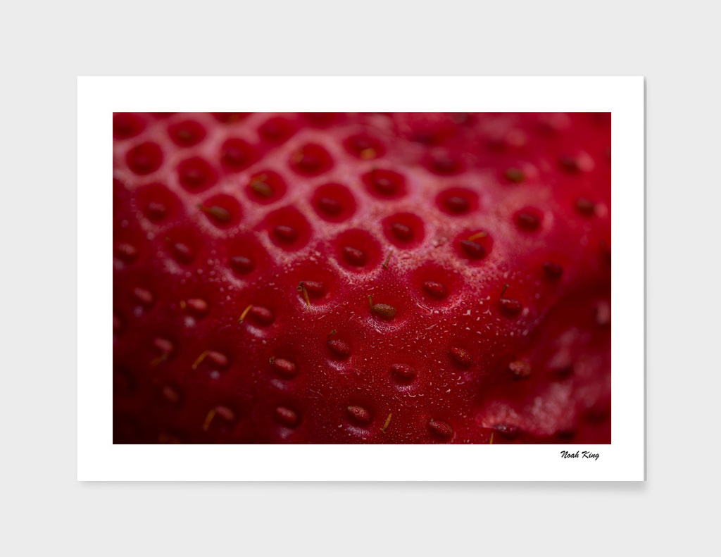 Close Up Strawberry main illustration