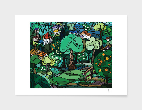 The Summer Garden main illustration