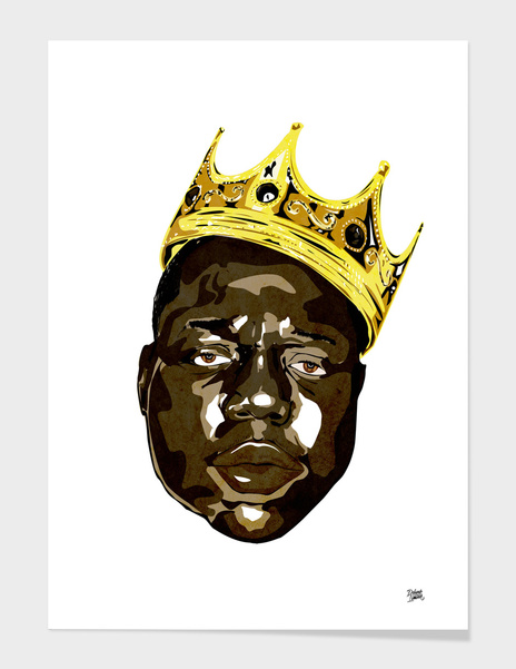 The Notorious BIG main illustration