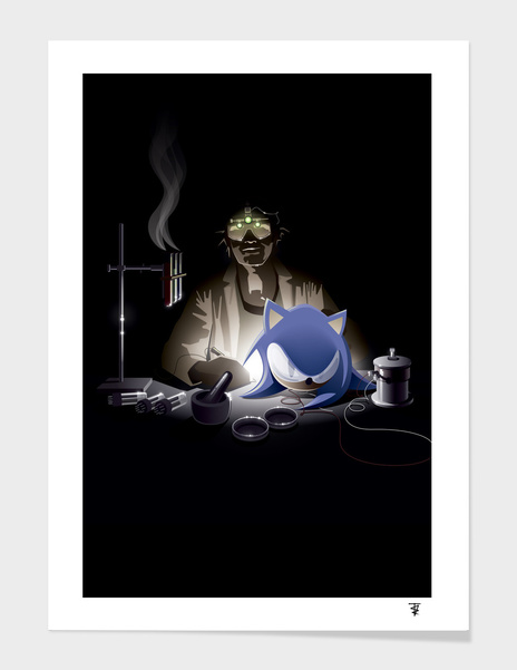 Re-Animating Sonic main illustration